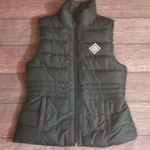 Hollister puffy vest size M